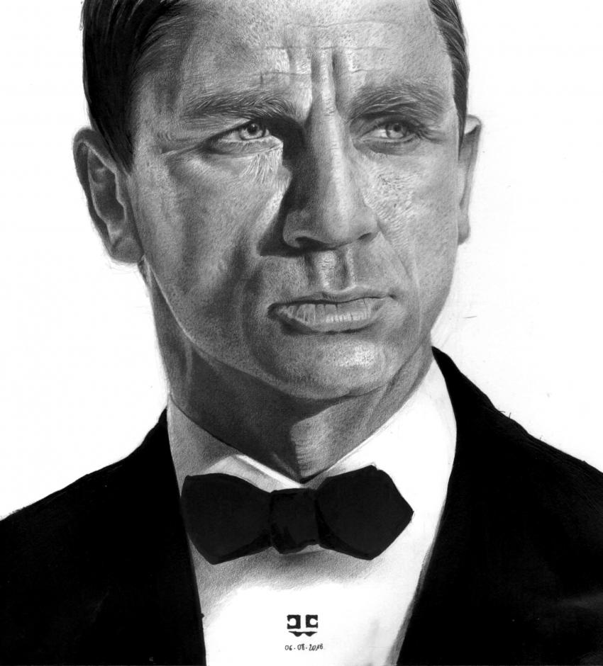Daniel Craig par Jean-Christophe